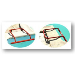 Barre d'appui pour aquabike