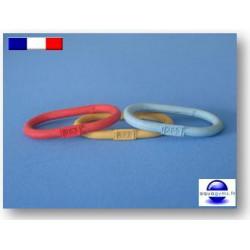Bracelet piscine en caoutchouc non numéroté - Par lot