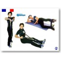 Elastique 4 sangles exercices fitness