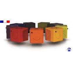Casier vestiaire modulable en plastique ultra résistant OonCub