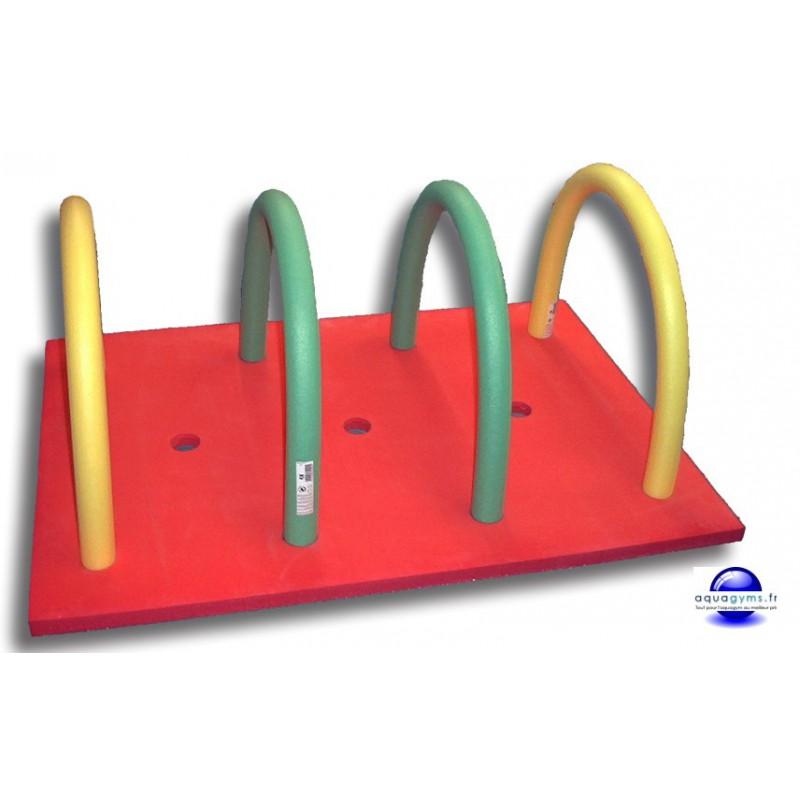 Tapis flottant avec frites for Accessoire piscine frite