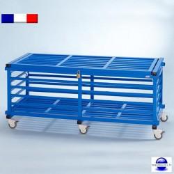 chariot de rangement pour piscine. Black Bedroom Furniture Sets. Home Design Ideas