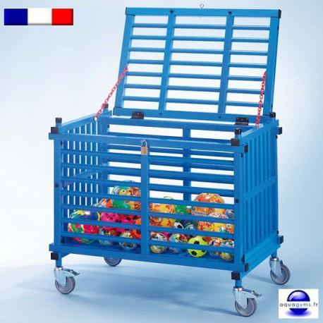 Caisse de rangement piscine avec couvercle capri - Caisse de rangement lego ...