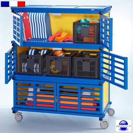 Armoire de rangement pour mat riel de piscine for Materiel de piscine