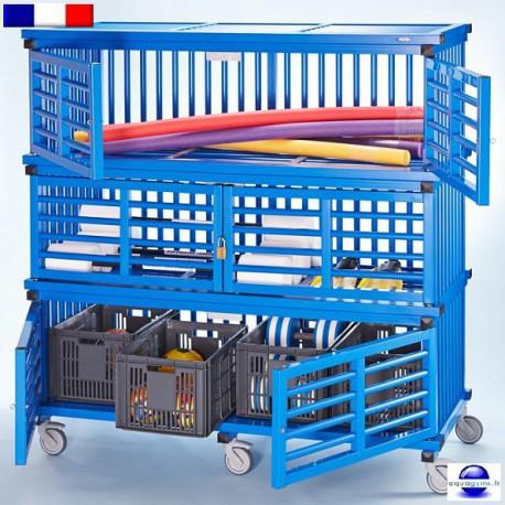 Armoire de rangement pour matériel de piscine Mod.2