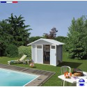 Abri piscine Utility 4.9 résine-4.90 m²