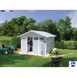 Abri piscine Utility 11 résine-11 m²