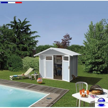 Abri piscine Deco 4.9 résine-4.9 m²