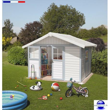 Abri piscine Deco 7.5 résine-7.5 m²