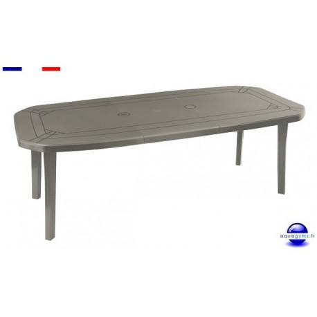table de jardin miami en r sine x m. Black Bedroom Furniture Sets. Home Design Ideas