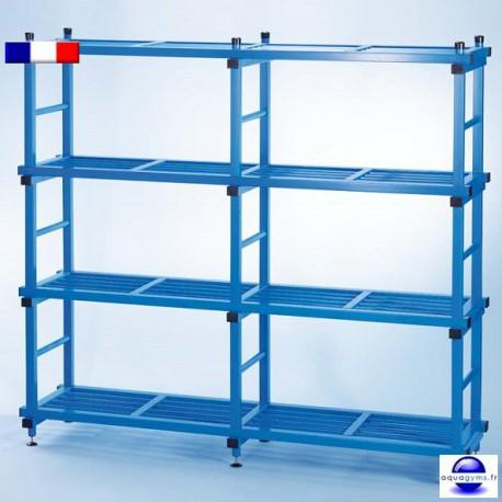 Etagère PVC haute résistance pour piscine