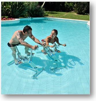 le succ s de l 39 aquabike chez les hommes et les femmes. Black Bedroom Furniture Sets. Home Design Ideas
