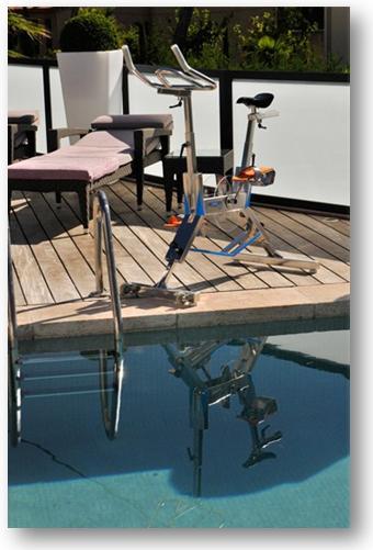 Installer un v lo aquatique dans votre piscine c 39 est for Velo piscine occasion