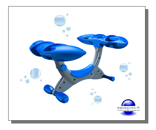 Mat riel d 39 aquagym osez l 39 originalit avec le v lo for Velo elliptique piscine