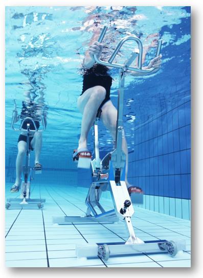 L 39 aquabiking est le sport piscine id al pour perdre du - Aquabiking piscine keller ...