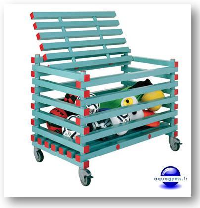 Nouveau coffres chariots et armoires de rangement pour for Accessoire piscine professionnel