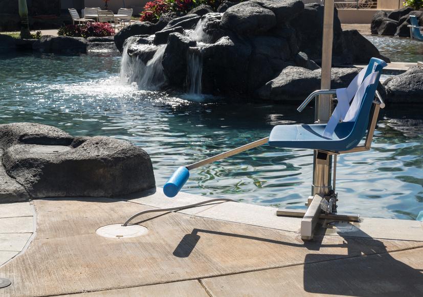 Am liorer l accessibilit d 39 une piscine pour les pmr for Leve personne piscine
