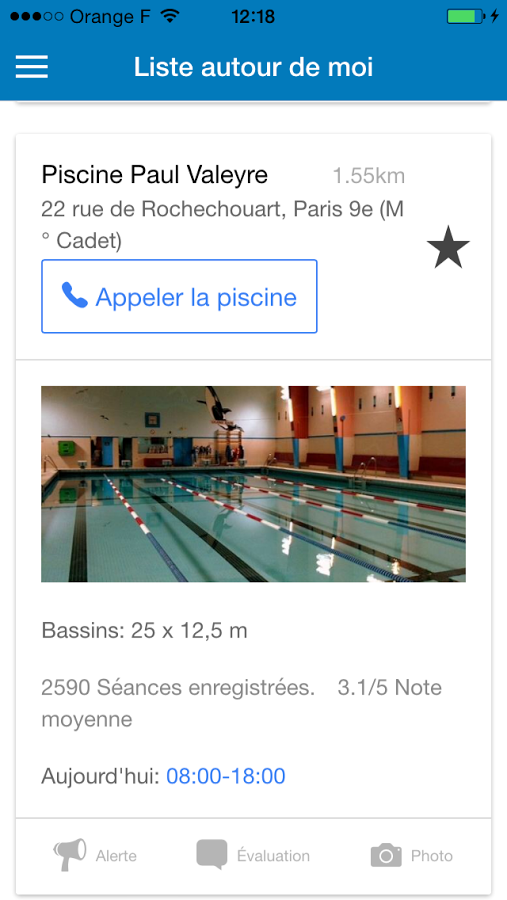 Le top des applications mobiles pour nageurs for Piscine fond mobile sans cable
