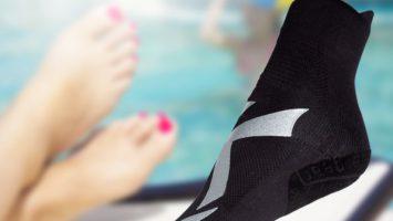 Chaussons piscine antibactériens : prenez soin de vos pieds