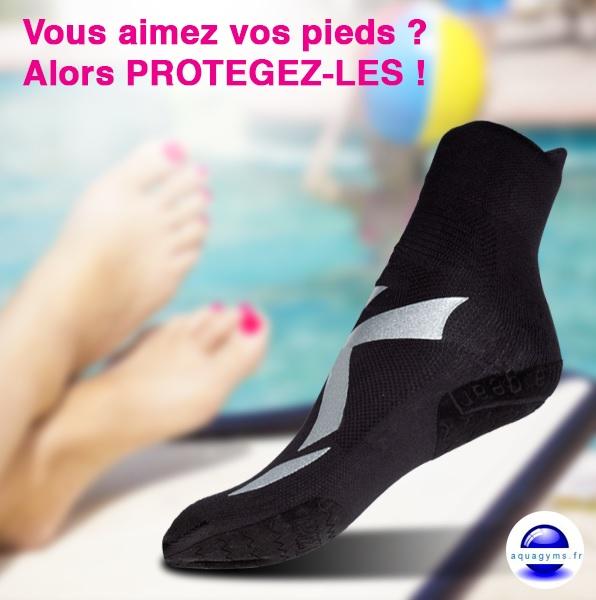 Chaussons piscine antibact riens prenez soin de vos for Chaussons de piscine