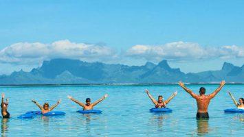 Idéal pour les exercices aquatiques