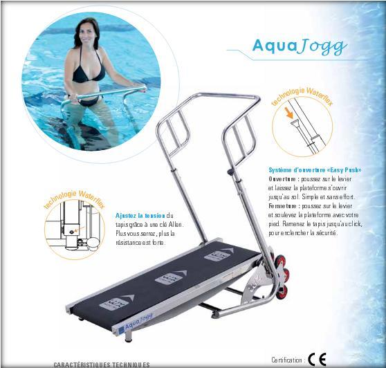 Tapis de marche pour piscine aquajogg - Marcher sur un tapis de course fait il maigrir ...