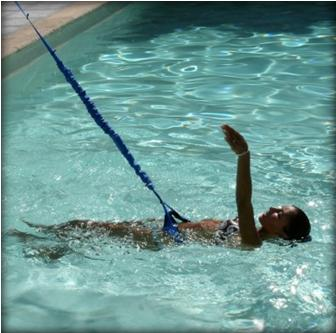 Elastique de natation - Elastique pour nager piscine ...