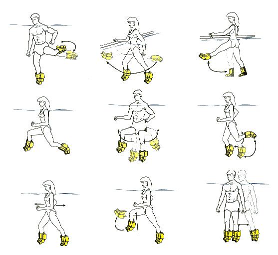 exercice musculation piscine ye63 humatraffin. Black Bedroom Furniture Sets. Home Design Ideas