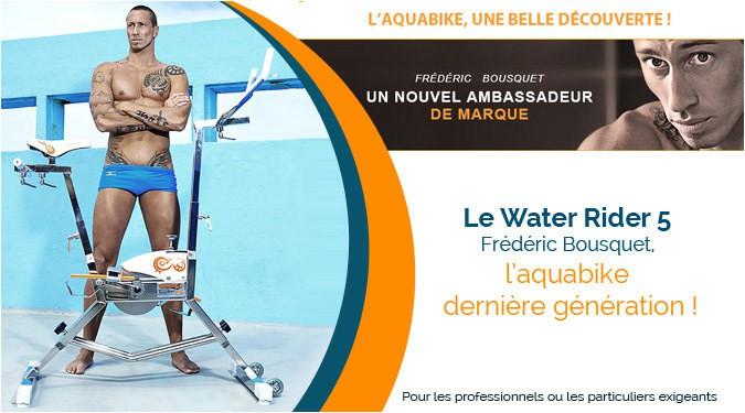 Le Water rider 5, l'aquabike dernière génération