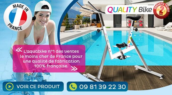 L'aquabike n°1 des ventes le moins cher de France.