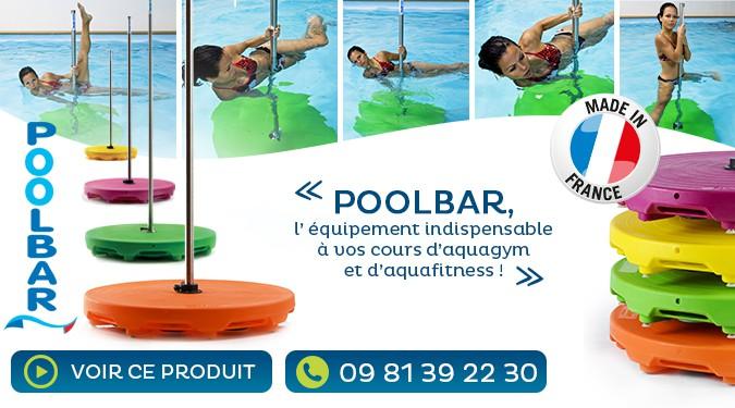 Poolbar, indispensable pour vos cours d'aquagym.