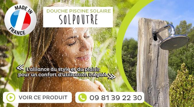 Douche solaire : pour une énergie gratuite !