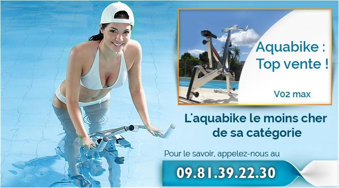 L'aquabike le moins cher de sa catégorie